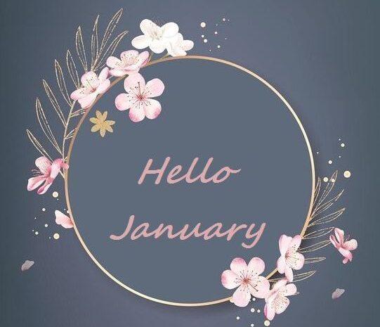 Hello January Tumblr, Pinterest, Facebook