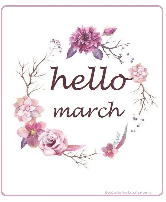 Hello March Pictures