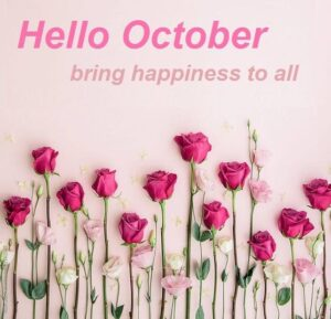 Hello October For Whatsapp