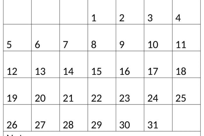 December 2021 Calendar For PDF Template